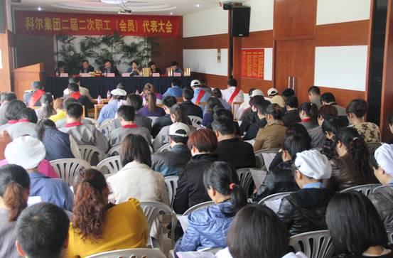 集团二届二次职工代表暨工会会员代表大会顺利召开