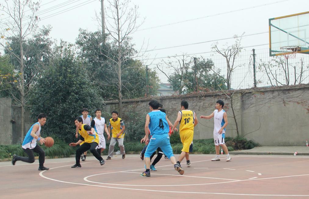 2014年科尔职工篮球赛精彩结束